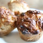 These muffins are packed with fibre and vitamins!