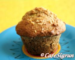 Muffins with a tropical twist!